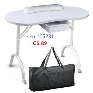 Fordable Portable Manicure Table with carrying bag $89.99