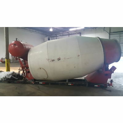 Used 10 Cubic Yard Stationary Concrete Mixer