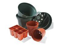 Free Plastic Plant Pots