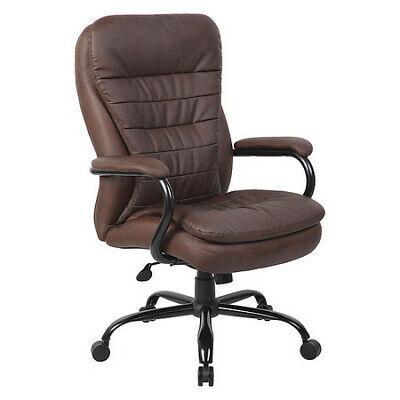 Boss B991-bb Heavy Duty Double Plush Leatherplus Chair350 Lbs.