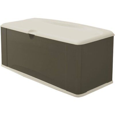 Rubbermaid 121 Gallon Deck Box with Seat W