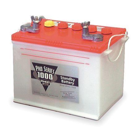PHCC PRO SERIES B-1000 Battery,Deep Cycle