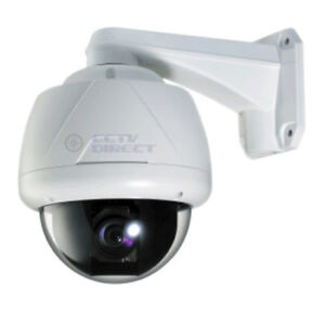 Speed Dome PTZ Day/Night Security Camera - NEW