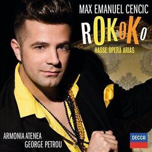 Rokoko: Hasse Opera Arias (CD, Feb-2014, Decca Max Cencic)