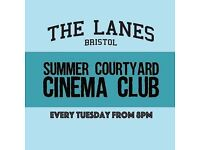 Summer Courtyard Cinema Club : Flakes