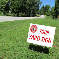 MAGNETS/COROPLAST SIGNS/YARD SIGNS/LAWN SIGNS