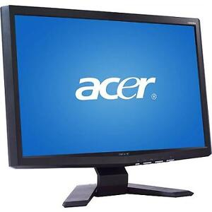 """Acer X223Wbd Black 22"""" Widescreen LCD Monitor"""