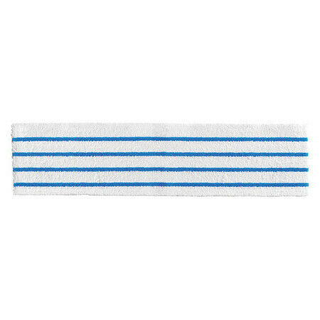 """Rubbermaid Commercial Products 2134282 Dry Pad,White/Blue,18"""" X 4 3/4""""Pk150"""
