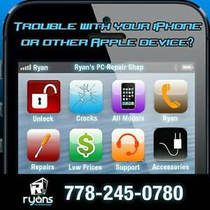 CELL PHONE / COMPUTER  REPAIR AND UNLOCKING - (778) 245-0780