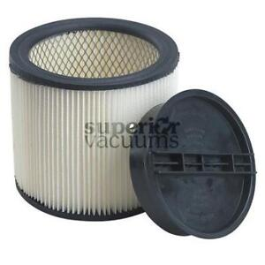 """Cartridge Filter Wet Dry Open At Both Ends 10 12 Gallon 7 1/2"""" Across 6 1/2"""" Tall"""