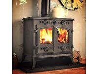 BARGAIN! New, Coseyfire. 12 kw Winterwarm Multifuel wood burning BOILER Stove. Collect Hull