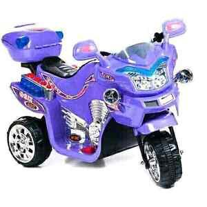 Lil' Rider FX 3-Wheel Battery-Powered Bike, Purple.