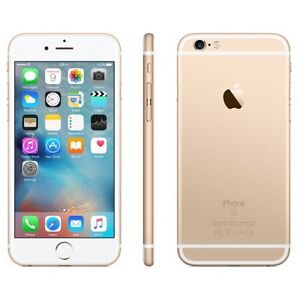 iPhone 6s 16gb gold colour
