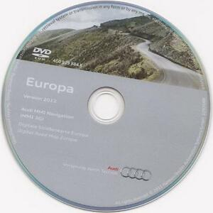 audi sat nav dvd mmi ebay. Black Bedroom Furniture Sets. Home Design Ideas