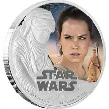 2016 Niue $2 Star Wars: The Force Awakens Rey Silver Proof Coin