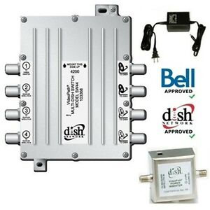 SW44 Switch for Bell Satellite TV Dish--NEW Kingston Kingston Area image 1