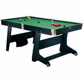 Folding Pool and Table Tennis Games Table