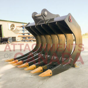 Excavator Root Rakes - Factory Direct - Canadian Built