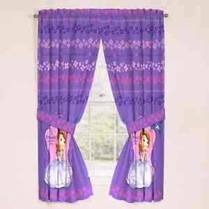Sofia the First Bedding and Curtains