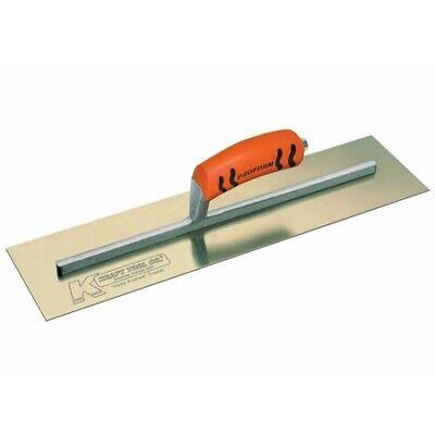 Kraft Tool 16 X 3 Golden Stainless Steel Cement Trowel With Proform Handle