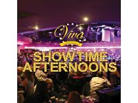 SHOWTIME AFTERNOONS ON 28 MARCH