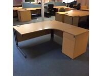 13 x office desks