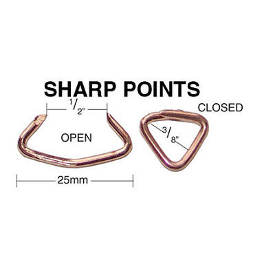 2000 QTY:C.S. Osborne & Co. No. 773 - Hog Rings w/ Sharp Points  MPN#64797