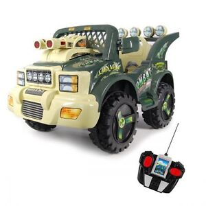 6V Electric Ride-On Military Jeep with Lights / Music & Remote Bayswater Knox Area Preview