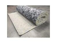 10mm Thick PU Foam Luxury Carpet Underlay Roll