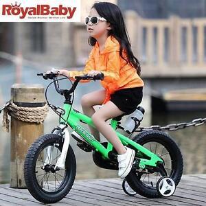 """NEW ROYAL BABY BMX KIDS BIKE 14"""" - 125208648 - GREEN"""