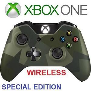 REFURB XBOX ONE WIRELESS CONTROLLER - 114254956 - VIDEO GAMES CAMO SPECIAL EDITION ARMED FORCES