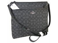 Coach Black & Grey Handbag (New)