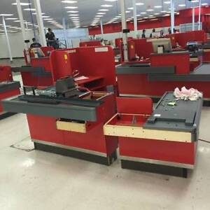 Retail or Grocery Checkout Conveyor & Scanner EUC Pan-Osten