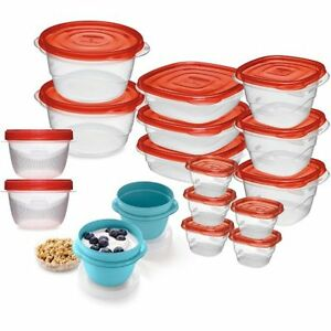 Brand New RUBBERMAID 36 PIECE FOOD STORAGE SET
