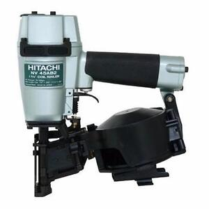 "HITACHI 7/8"" to 1-3/4"" Roofing Roof Nailer NV45AB2"