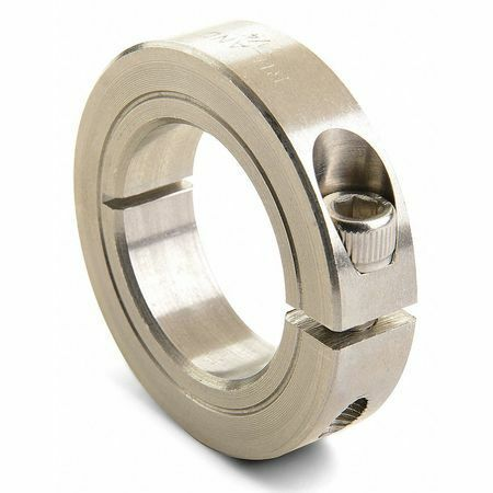 Ruland Manufacturing Cl-20-Ss Shaft Collar,Clamp,1Pc,1-1/4 In,303 Ss
