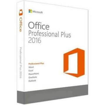 MS Office Professional Plus 2016 Digitale licentie