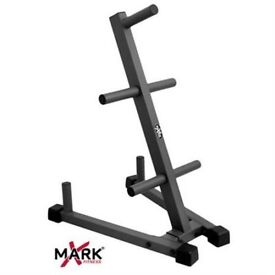 Brand New Commercial Olympic Weight Plate Tree - Weights Gym Storage Rack Gym