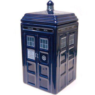 Doctor Who Tardis Ceramic Cookie Jar