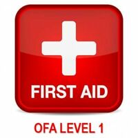 Occupational First Aid Level 1 (OFA1) - July 5, 11, 17 and 26th