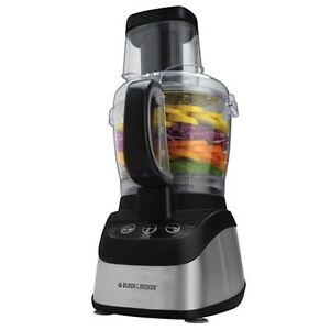 Black and Decker Wide Mouth Food Processor with Chopper