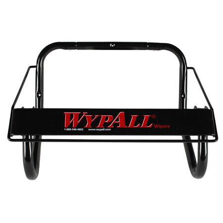 "WYPALL 80579 2.9""H x 16-4/5""W, Wall Mount Dispenser, Jumbo Roll, Black"