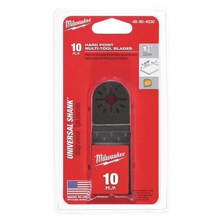 MILWAUKEE 48-90-4030 Oscillating Hard Point Blade,10 Pieces