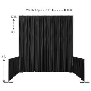 Trade Show Pipe and Drape Booth System