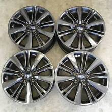 Subaru WRX 2015 Rims - Set of 4 - Centre Caps Included Matraville Eastern Suburbs Preview