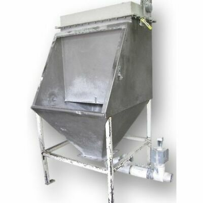 Used Stainless Steel Bag Dump Station With Dust Collector