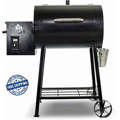 Pit Boss Pellet Grill Wood Fired BBQ Grilling Roasting Smoker Digital 340 Sq.In.