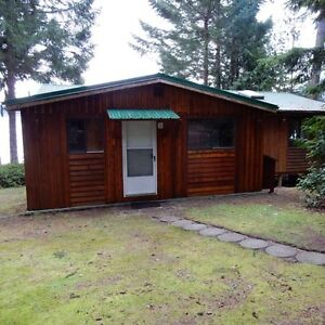 Horne Lake cabin for sale by owner