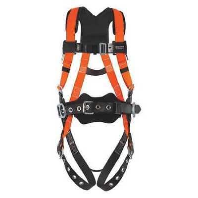 Honeywell Miller T4577uak Full Body Harness Vest Style Lxl Polyester