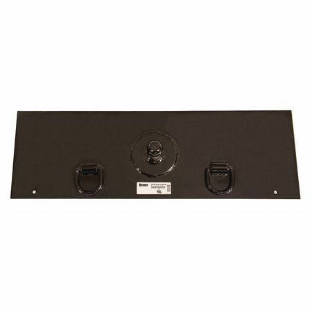 "BUYERS PRODUCTS 3014981 Gooseneck Hitch Plate w/2-5/16"" Ball"